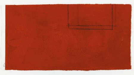 Robert Motherwell-Red Open With White Line (W.A.C. 238)-1979
