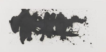Robert Motherwell-Running Elegy (W.A.C. 303)-1983
