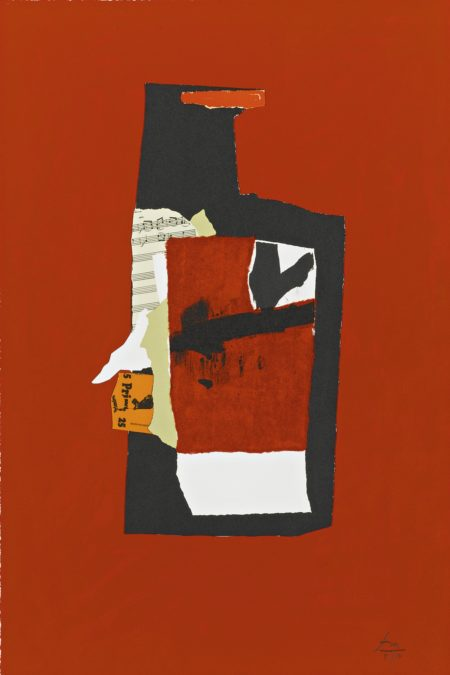 Robert Motherwell-Redness Of Red (State I) (W.A.C. 355)-1985