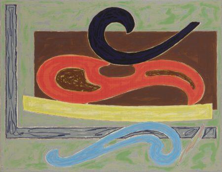 Frank Stella-Eskimo Curlew (Axsom 107)-1977