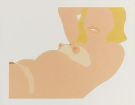 Tom Wesselmann-Great American Nude Cut Out-1970
