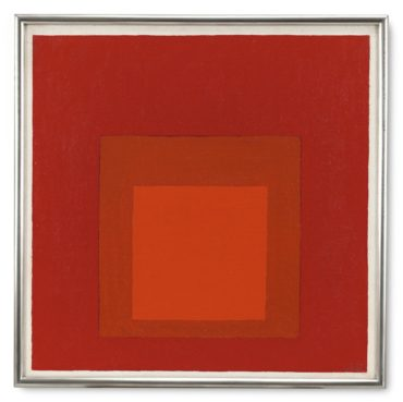 Josef Albers-Study For Homage To The Square: Sel.: E. B. 1-1969