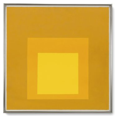 Josef Albers-Study For: Homage To The Square 'Towards Fall Ii'-1961