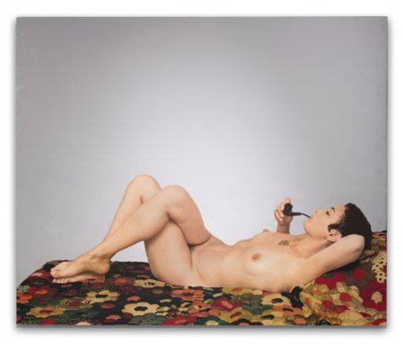 Michelangelo Pistoletto-La Venere Con La Pipa-1973