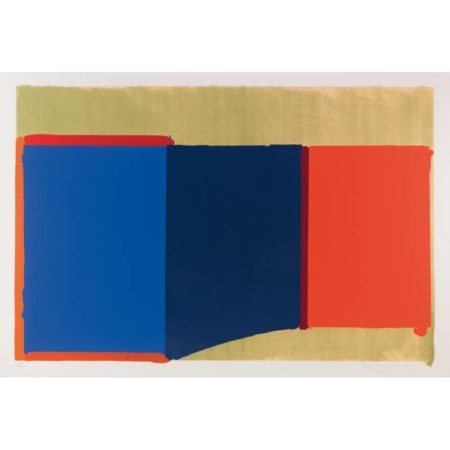John Hoyland-Blues, Reds-1969