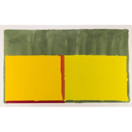 John Hoyland-Yellows-1969