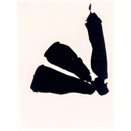 Robert Motherwell-Africa Suite: Africa 8-1970