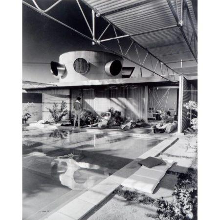 Julius Shulman-Frey House I, Palm Springs, (Architect: Albert Frey)-1968