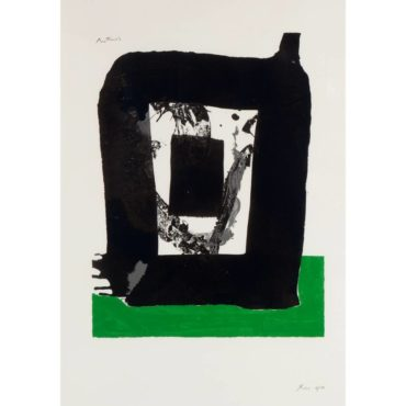 Robert Motherwell-The Basque Suite: Untitled-1971