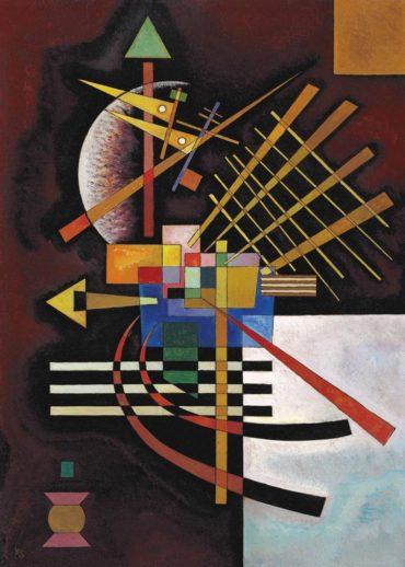 Wassily Kandinsky-Oben Und Links-1925