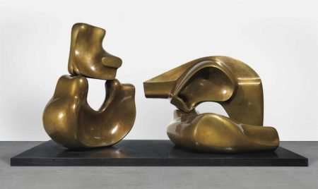 Large Four Piece Reclining Figure-1973