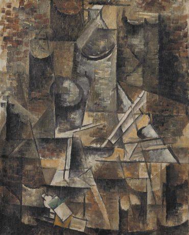Georges Braque-Le Gueridon-1911
