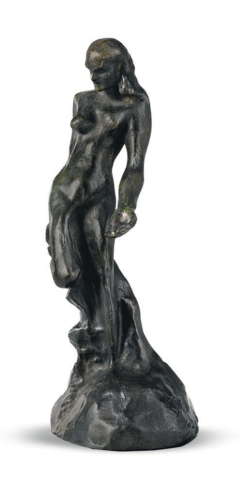 Auguste Rodin-Figure Feminine De L'Eternelle Idole, Petit Modele-1960