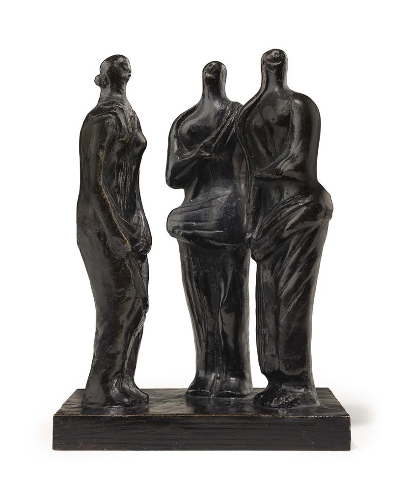 Three Standing Figures-1945