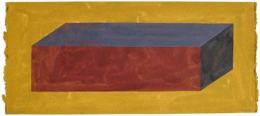 Sol LeWitt-Cubic Rectangle-1989