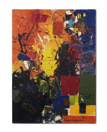 Hans Hofmann-A Certain Mood-1959