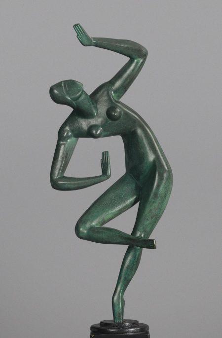 Alexander Archipenko-Blue Dancer-1965
