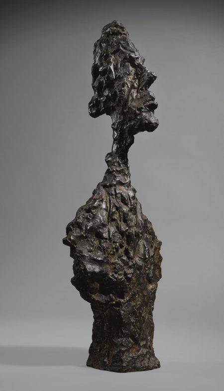 Alberto Giacometti-Buste De Diego-1958