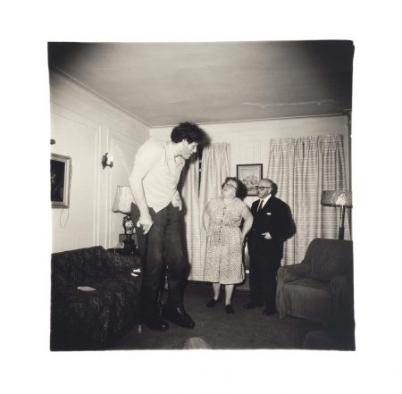 Diane Arbus-A Jewish Giant At Home With His Parents In The Bronx, N.Y., 1970-1970