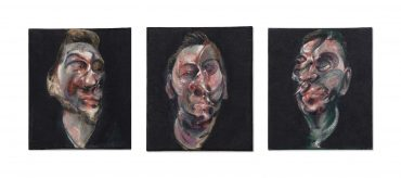 Francis Bacon-Three Studies For A Portrait Of George Dyer-1963