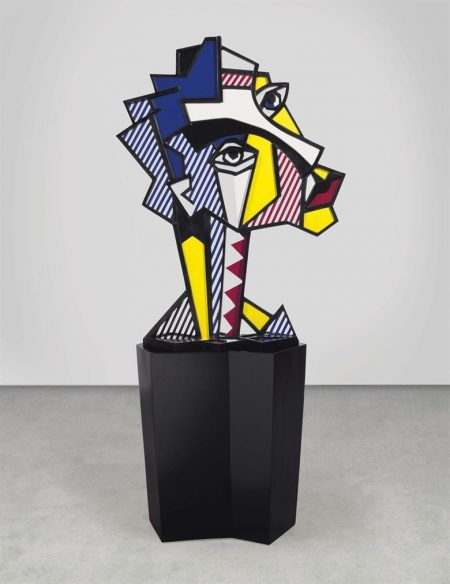 Roy Lichtenstein-Expressionist Head-1980