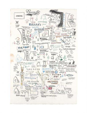 Jean-Michel Basquiat-Untitled-1987
