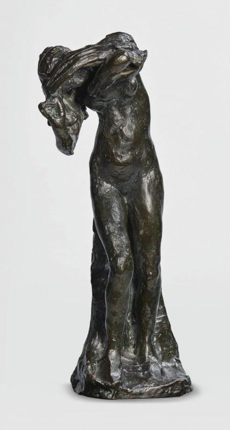 Auguste Rodin-Baigneuse Retirant Sa Chemise-1985