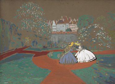 Wassily Kandinsky-Die Rosen (Roses)-1905