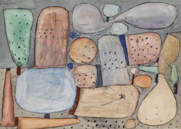 Paul Klee-Landschaftsteile Gesammelt (Parts Of A Landscape Assembled)-1935