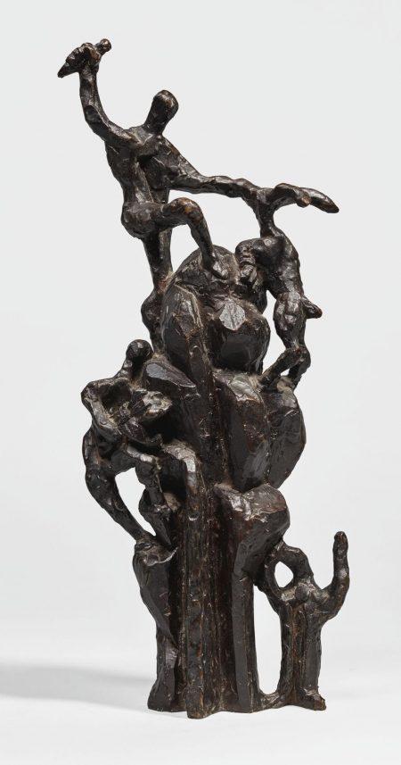 Jacques Lipchitz-Biblical Scene ii-1950