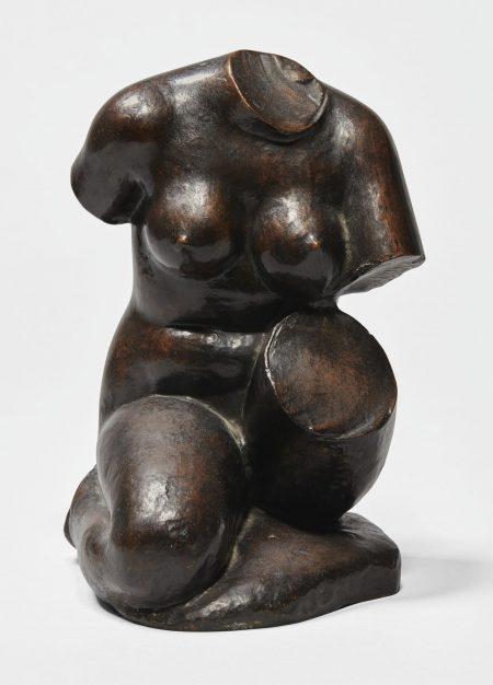Aristide Maillol-Torse Debussy (Etude Pour Le Monument A Claude Debussy)-1922
