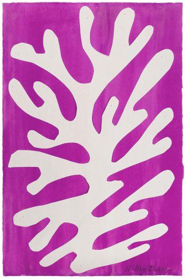 Henri Matisse-Arbre De Neige-1947