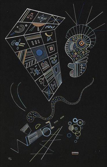 Wassily Kandinsky-Ohne Titel-1941