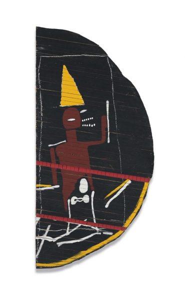 Jean-Michel Basquiat-Untitled (Half-Moon)-1985