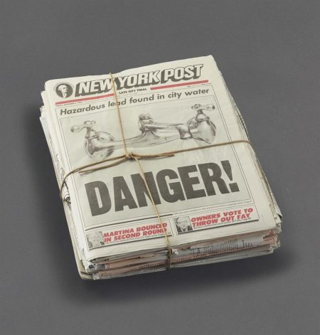 Robert Gober-Newspaper-1992