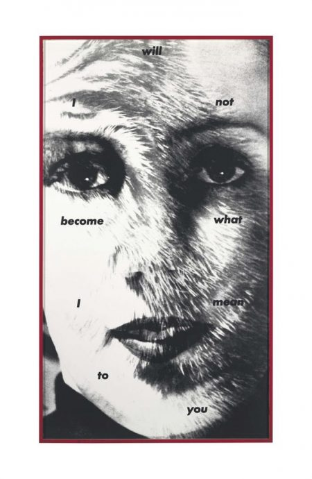 Untitled (I Will Not Become What I Mean To You)-1983