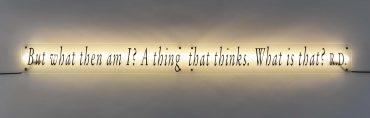 Joseph Kosuth-A Propos (Reflecteur De Reflecteur) #13-2004