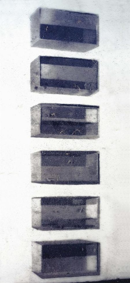 Vik Muniz-Donald Judd (Pictures Of Dust)-2000