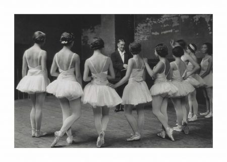 Alfred Eisenstaedt-Ballet Master At Rehearsal Of Tchaikovskys Swan Lake Ballet, Giving Advise To Future Ballerinas At The Grand Opera De Paris, 1930-1930