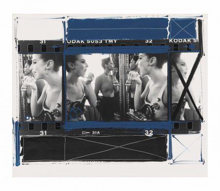 William Klein-Makeup Backstage, Paris, 1962-1962