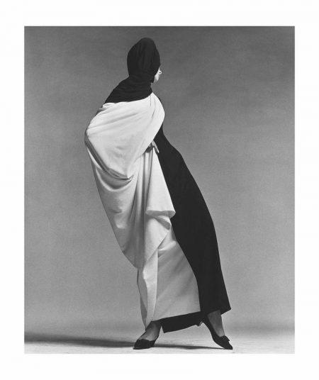Richard Avedon-Jean Shrimpton, Toga By Forquet, Paris Studio, August, 1965-1965
