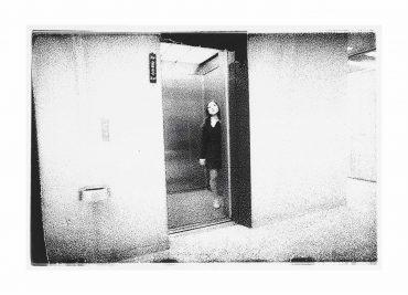 Nobuyoshi Araki-Young Woman In Elevator, 1973-1973