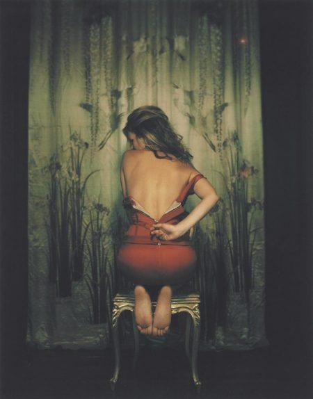 Mary Mccartney - Kate Moss Unzipping Dress, April 2011-2011
