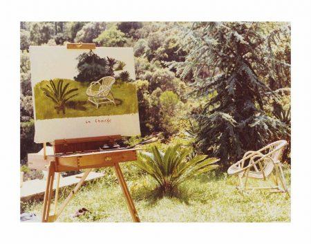 David Hockney-La Chaise, 1973-1973