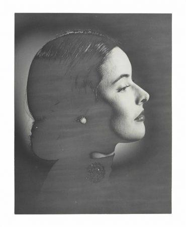Erwin Blumenfeld-Suzy Parker Solarized With Jewelry, New York, 1946-47-1947