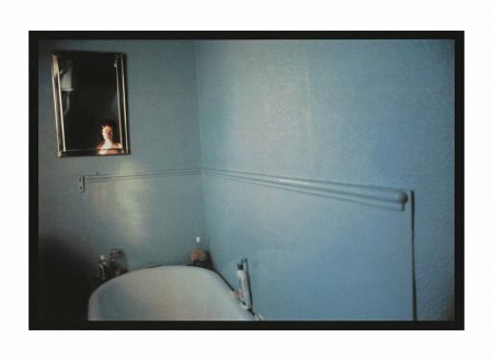 Nan Goldin-Self-Portrait In Blue Bathroom, London, 1980-1980
