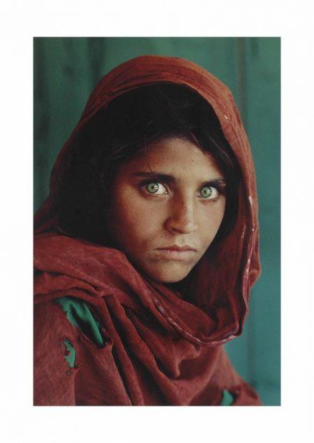 Steve McCurry-Afghan Girl, 1984-1984