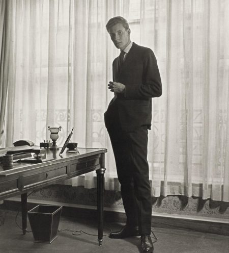 Yves Saint Laurent At 'Diors', Paris, 1958-1958