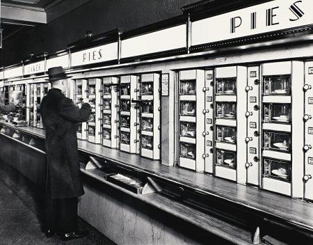 Berenice Abbott-Automat, New York, 1936-1936