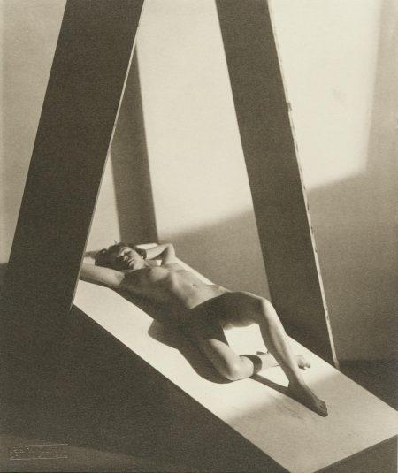 Frantisek Drtikol-Untitled (Nude Reclining), 1922-28-1928